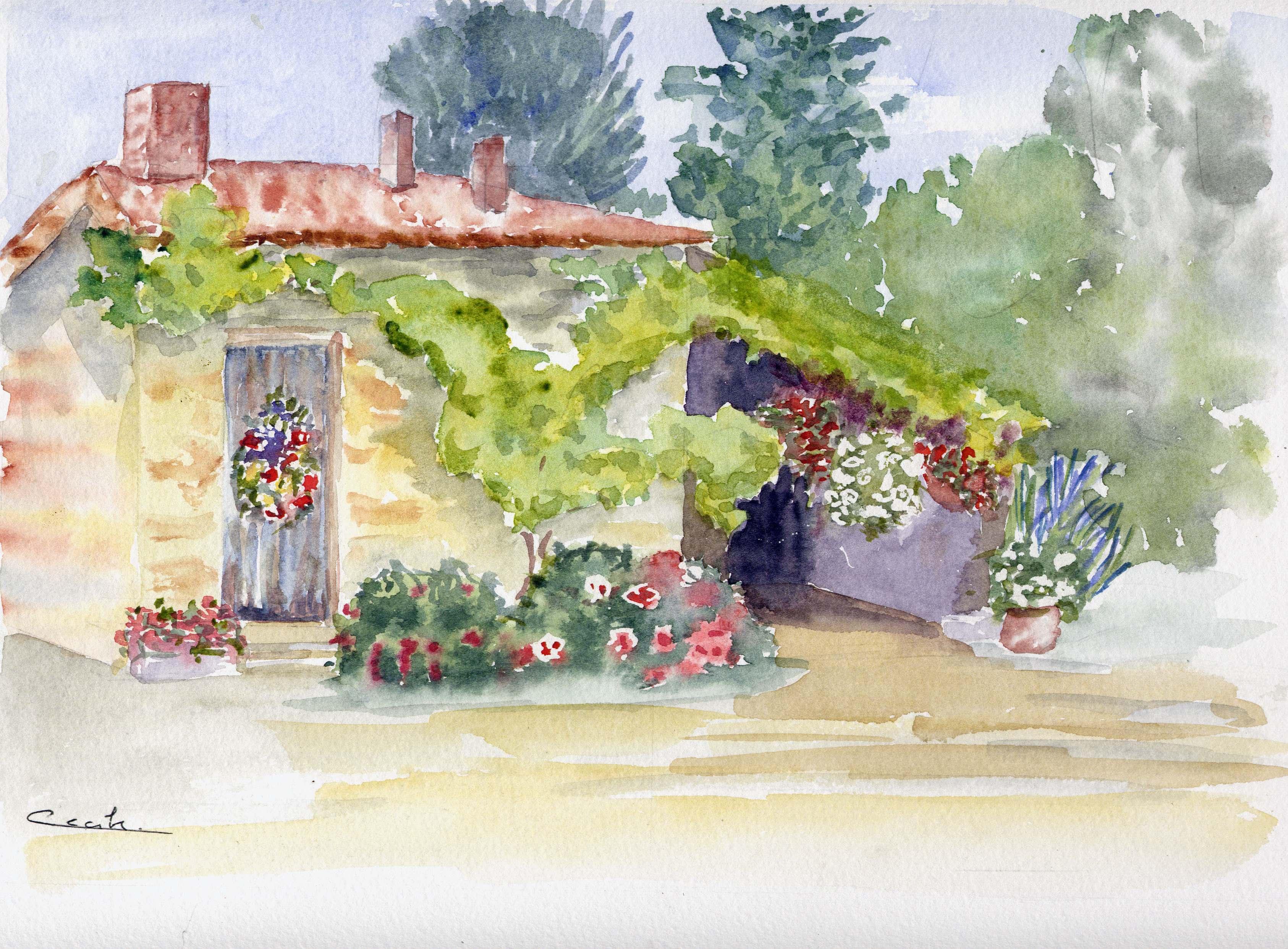 la petite maison (four à pain)